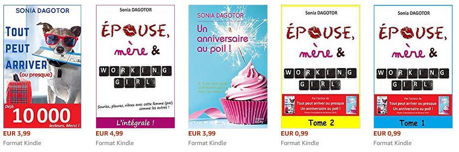 Les livres de Sonia Dagotor