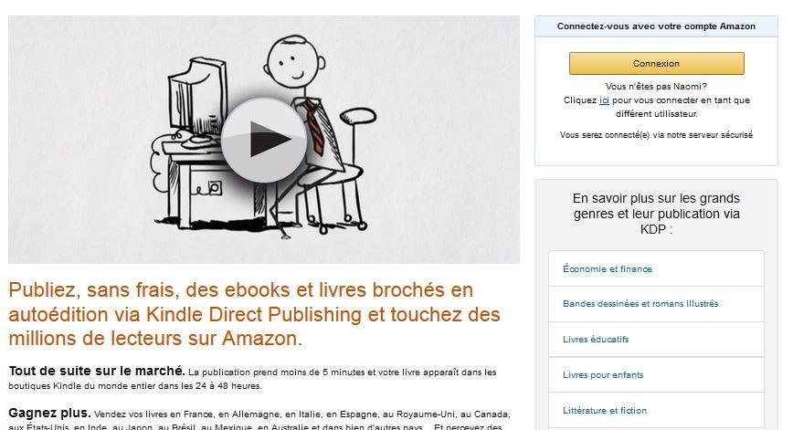 Comment Imprimer Son Livre Avec Amazon Et Ne Pas Se Perdre